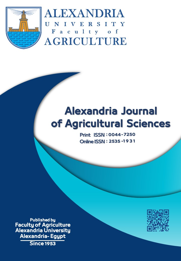Alexandria Journal of Agricultural Sciences